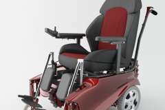 Caterwil_Wheelchair_Red