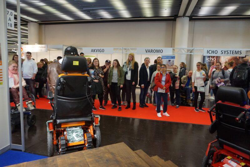 Участие колясок CATERWIL в выставке Rehacare