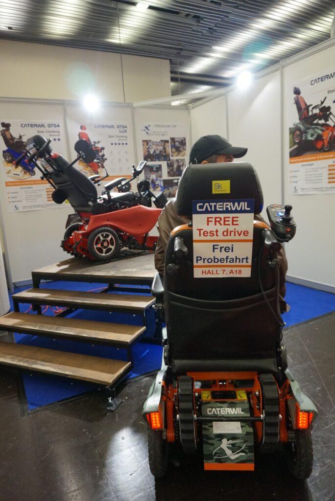 участие колясок gts5 на выставке в Дюсельдорфе