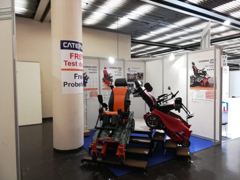 участие инвалидных колясок gts 5 на выставке в Дюсельдорфе