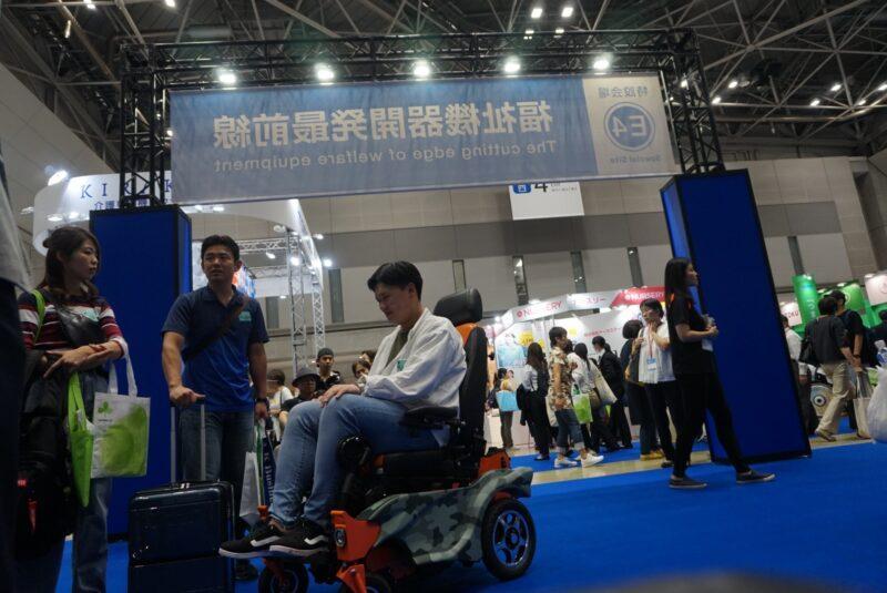 коляски-ступенькоходы Caterwil в Японии