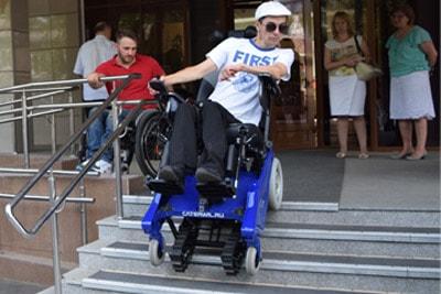 Кресло-коляска вездеход
