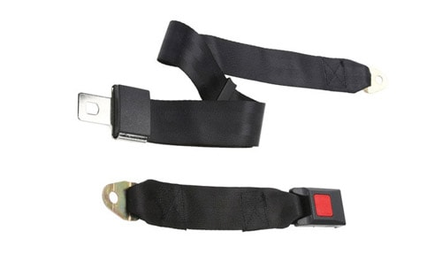 2 points Safety belt