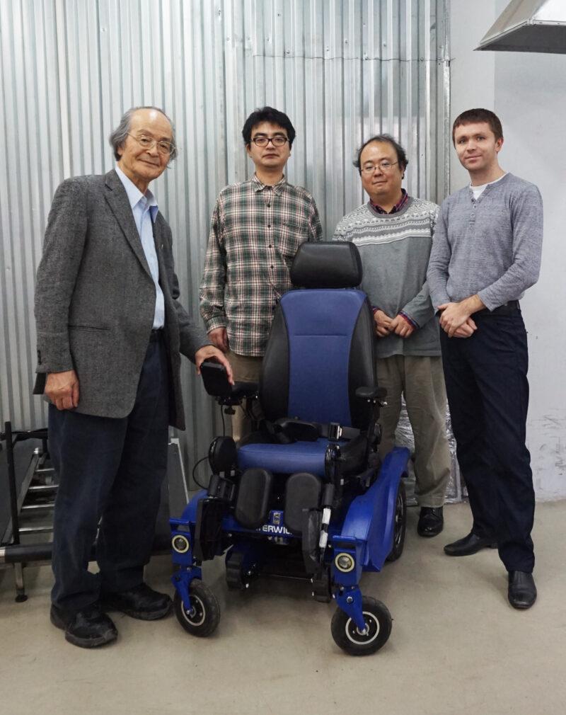 инвалидные коляски Caterwil в Японии